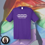 LOVE IS LOVE T-SHIRT XXL / PURPLE