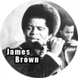 JAMES BROWN BUTTON