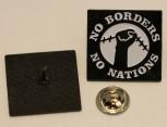 NO BORDER NO NATION PIN
