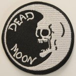 DEAD MOON RUND PATCH