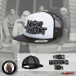 MINOR THREAT WHITE MESH CAP