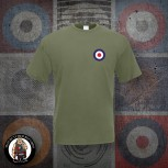 MOD TARGET SMALL T-SHIRT M / OLIVE