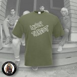 MINOR THREAT LOGO T-SHIRT S / OLIVE
