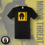 MINOR THREAT GRAFIC T-SHIRT