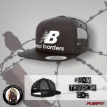NO BORDERS MESH CAP SCHWARZ