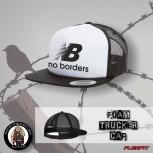 NO BORDERS MESH CAP WEISS