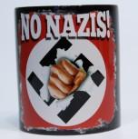 NO NAZIS KAFFEEBECHER