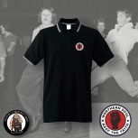 NORTHERN SOUL LOGO SMALL POLO Black / S