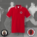 NORTHERN SOUL LOGO SMALL POLO 3XL / red