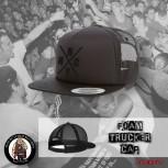 NYHC BLACK ON BLACK MESH CAP