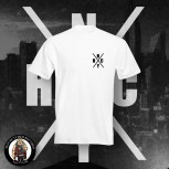 NYHC (NEW YORK HARDCORE) LOGO T-SHIRT WEISS / 5XL