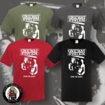 ONE WAY SYSTEM STAB THE JUDGE T-SHIRT