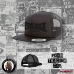 PUNKROCK SINCE 1977 BLACK ON BLACK MESH CAP