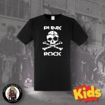 PUNK ROCK SKULL KIDS T-SHIRT