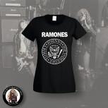 RAMONES LOGO GIRLIE SCHWARZ / S