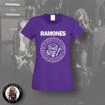 RAMONES LOGO GIRLIE S / LILA
