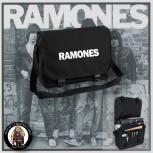 RAMONES SIMPLE MESSENGER BAG Black