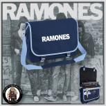 RAMONES SIMPLE MESSENGER BAG BLAU