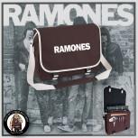 RAMONES SIMPLE MESSENGER BAG BRAUN