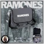 RAMONES SIMPLE MESSENGER BAG GRAU