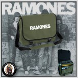RAMONES SIMPLE MESSENGER BAG OLIVE