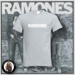 RAMONES SIMPLE T-SHIRT GRAU / 5XL