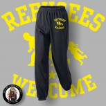 REFUGEES WELCOME JOGGER