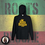 ROOTS REGGAE HOOD Black / S