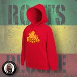ROOTS REGGAE HOOD S / red