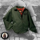 HARRINGTON JACKET SKINHEAD S / GRÜN