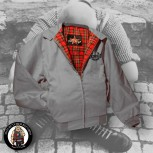 HARRINGTON JACKET SKINHEAD 3XL / GRAU