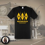 SUN RECORDS DIAMOND T-SHIRT SCHWARZ / S