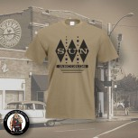 SUN RECORDS DIAMOND T-SHIRT M / BEIGE