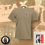 STAX LOGO SMALL T-SHIRT XL / BEIGE