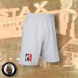 STAX LOGO SMALL SHORTS M / GRAU