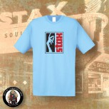 STAX LOGO T-SHIRT M / LIGHT BLUE