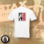 STAX LOGO T-SHIRT S / White