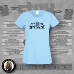 STAX OLD LOGO GIRLIE L / LIGHT BLUE