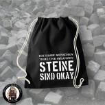 STEINE SIND OK SPORTBEUTEL