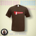 STUDIO ONE T-SHIRT XXL / BRAUN