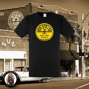 SUN RECORDS LOGO T-SHIRT S
