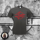 THE SWEET LOGO T-SHIRT XL / DARK GREY / RED