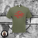 THE SWEET LOGO T-SHIRT S / OLIVE / ROT