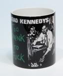 DEAD KENNEDYS TOO DRUNK TO FUCK KAFFEEBECHER