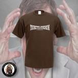 TOURETTE SYNDROM T-SHIRT XXL / brown
