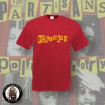 THE PARTISANS LOGO T-SHIRT XXL / BRICKRED