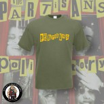 THE PARTISANS LOGO T-SHIRT XL / OLIVE