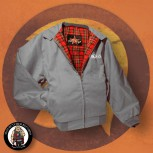 HARRINGTON JACKET TROJAN 3XL / GRAU