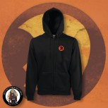 TROJAN HELMET ZIPPER 4XL / ORANGE