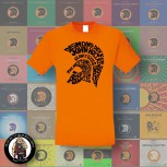 TROJAN ALLSTARS T-SHIRT S / ORANGE